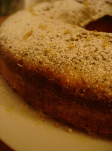 lemon and poppy seed lemon cake