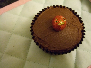Hummingbird bakery chocolate cupcake