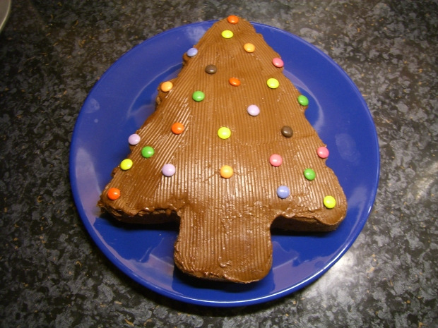 M&S Christmas tree cake mould
