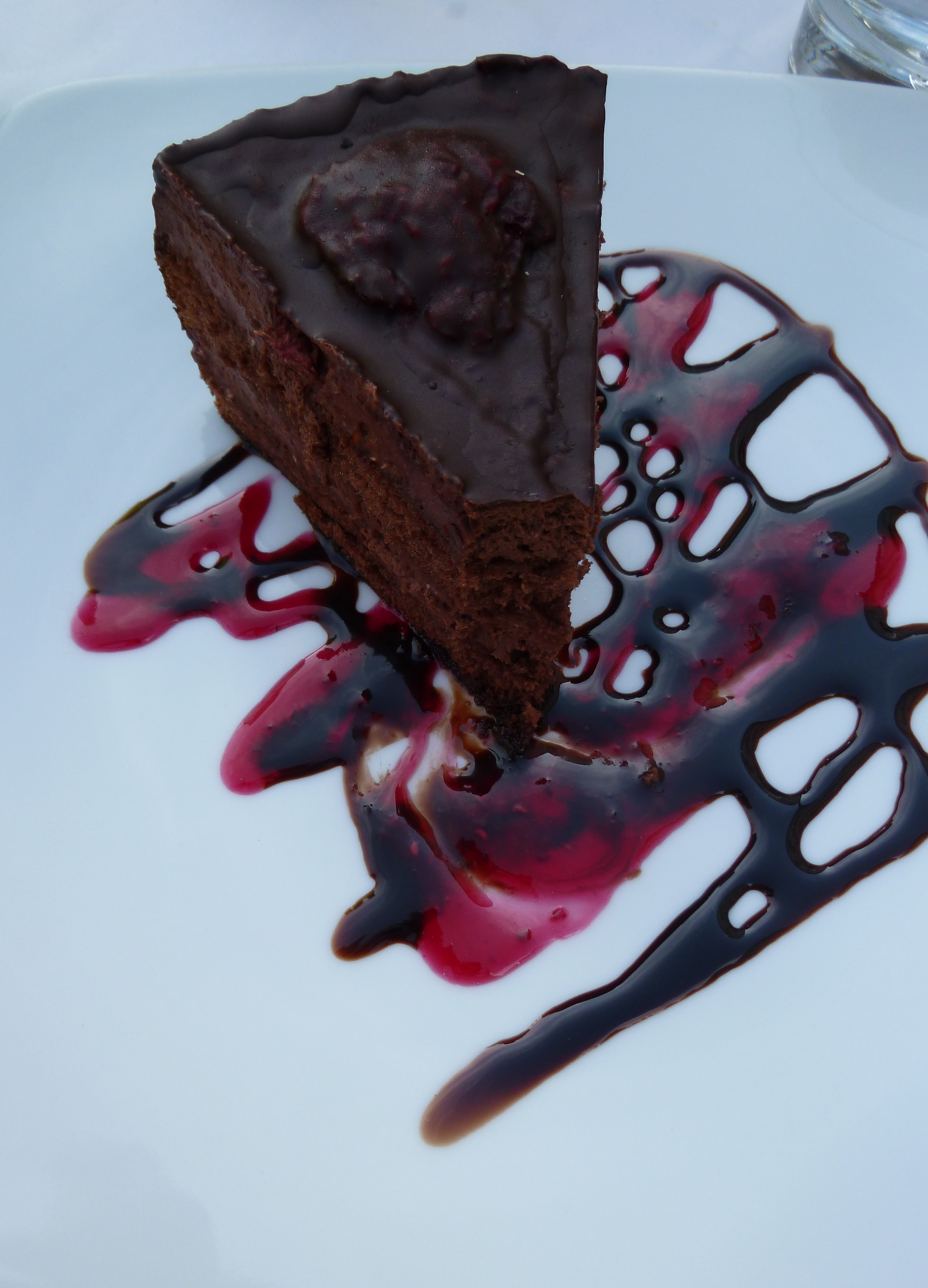 chocolate torte pressed chocolate and lavender torte recipes ...