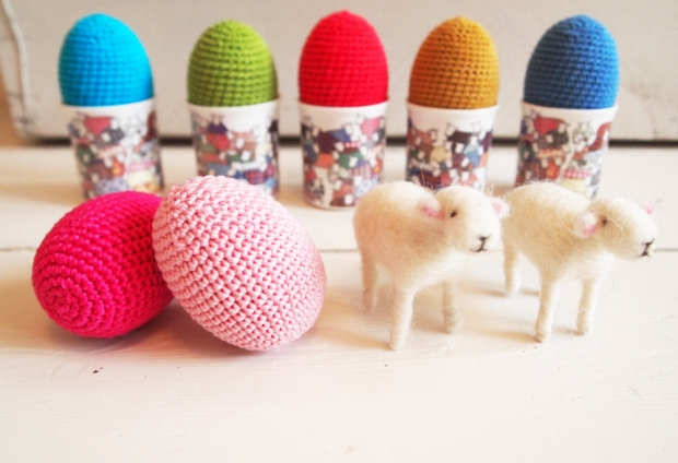 Mary Kilvert, colourful sheep