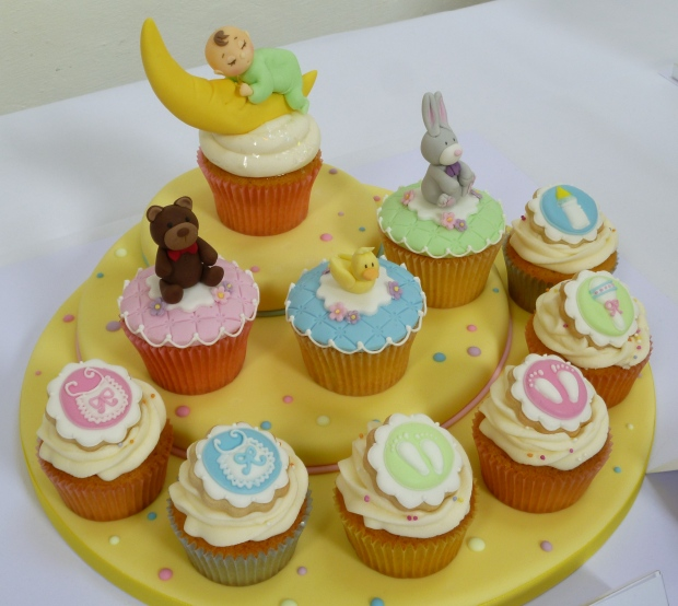 Squires Baking Exhibition cupcakes
