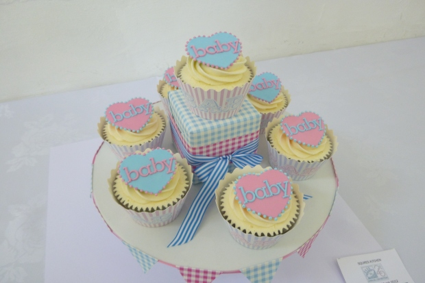 Baby cupcakes competition, Squires Baking Exhibition